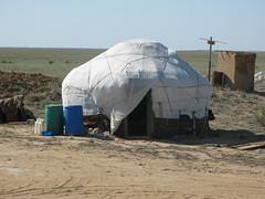 Yurt (tagois) Tags: kazakhstan tengiz