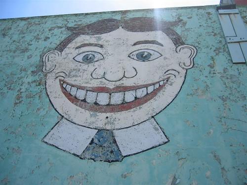 Asbury Park's famous Tillie mural