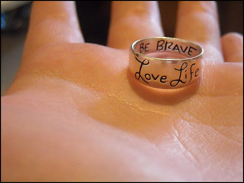 Love Life Be Brave The Sky Is Kelseys Flickr