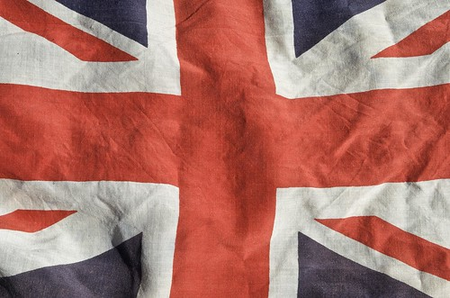 Union Jack Vintage Linen by geishaboy500.