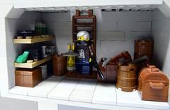 Outpost 20 (-Pendragon-) Tags: post lego apocalypse apoc brickarms pickingupthepiecesapocalegocontest