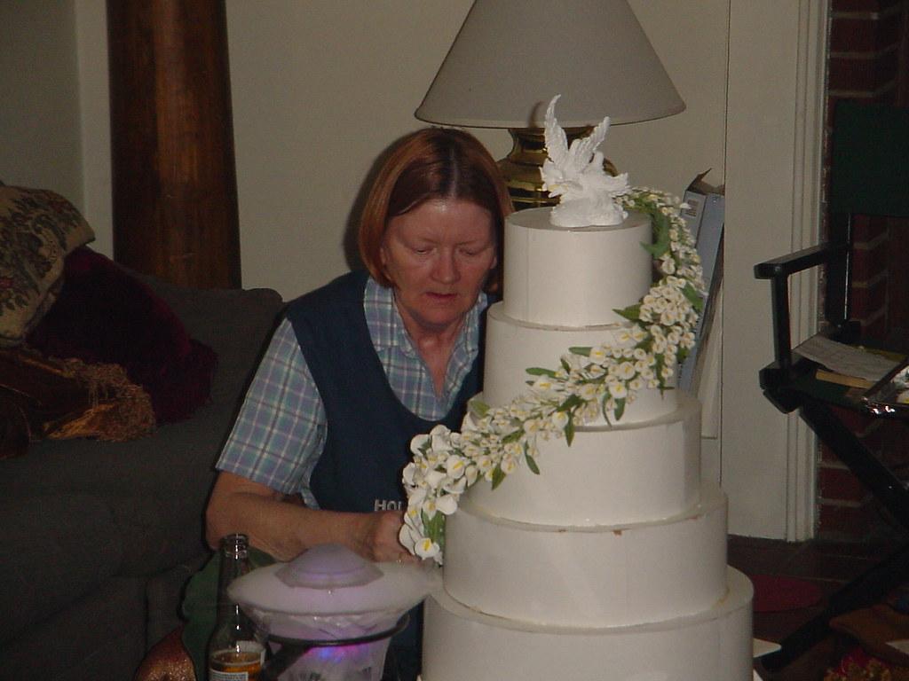 Calla Lilly cake topper