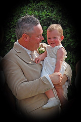 Awww (nezza74) Tags: wedding groom marriage fatheranddaughter jessjohn littlestbridesmaid