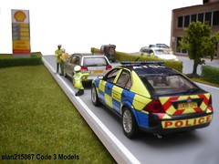Essex Police Ford Mondeo ST220 Traffic Car - Traffic Stop (alan215067code3models) Tags: ford car traffic police stop essex mondeo st220 eu05lhz