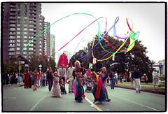 Vancouver Chariot Festival 2008 (PiscesDreamer) Tags: vancouver britishcolumbia indian religion culture parade celebration stanleypark ribbon rathayatra hindu secondbeach harekrishna eastindian iskcon beachavenue vaishnava jagannatha vaisnava chariotfestival vaishnavism chariotfestivalofjagannatha vancouverchariotfestival vaisnavism festivalofindiatour