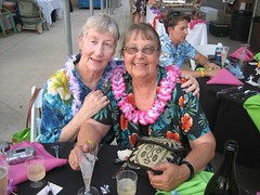 Jean and her sister Katie at Ray & Brena's wedding. (06/24/2006)