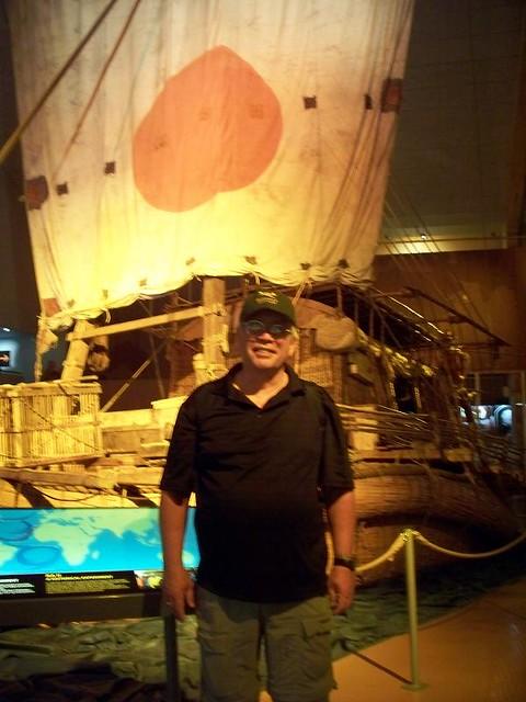 Visiting the Kon-Tiki