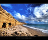 Hiding in Cavities :: HDR (:: Artie | Photography :: Travel ~ Oct) Tags: sea sky beach water clouds photoshop canon cs2 australia wideangle holes caves shore adelaide 1020mm southaustralia hdr artie 3xp sigmalens photomatix tonemapping tonemap 400d wilunga rebelxti portwilunga