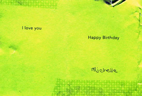 Found Birthday Love (Click to enlarge)