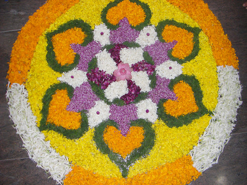 Calsoft Onam  Pookalam 2008 by arulmurugan77.