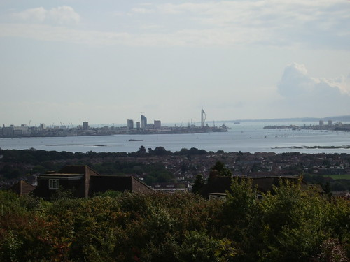 View of Spinnaker Tower from Portchester