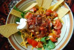 Tahko salad (megbee) Tags: food salad taco leftovers