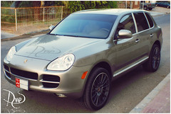 My Baby .. Porsche (avip1) Tags: baby love car speed gold 4x4 uae ad s cayenne turbo porsche alain           caynne