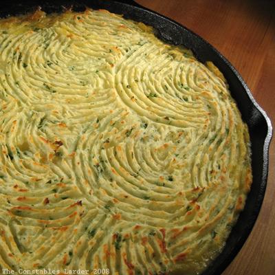 shepherds pie pan