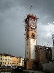 from the windshield (anbri22) Tags: italy storm car rain italia windshield pioggia dolomites temporale anbri fiemme ziano