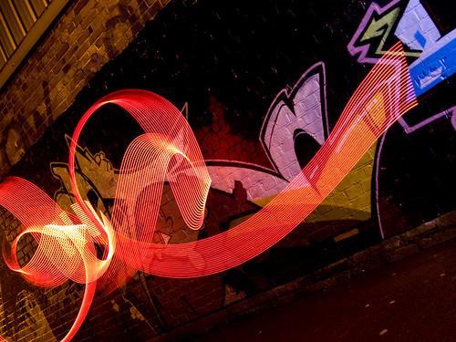Fratton Park Light Graffiti combo 1