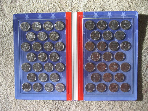 All the state quarters