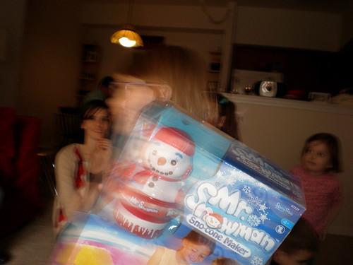 Blurry Snowman