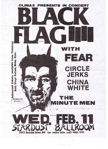 Black Flag at the Stardust Ballroom 1981