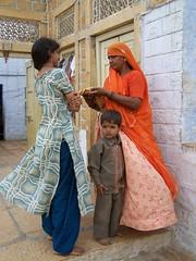 life (rongpuk) Tags: people woman india women donne childs jaisalmer