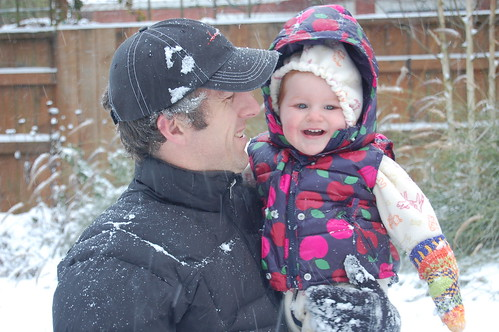 Brian and Erin in Snow