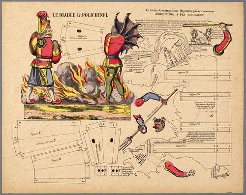 018- Lamina para la construccion del Diablo y Polichinela