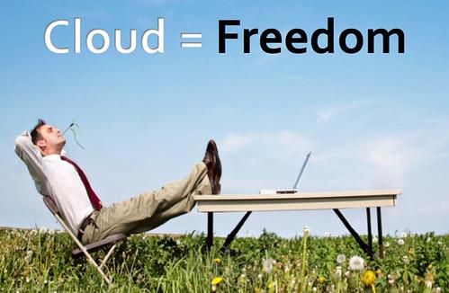 Cloud=Freedom