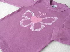 Custom Butterfly Heart Tee