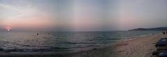 ภาพพาโนราม่าของทะเลภูเก็ต