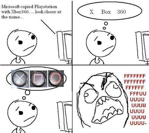 Thumb Comic de como Microsoft robó a Sony el nombre de Xbox 360
