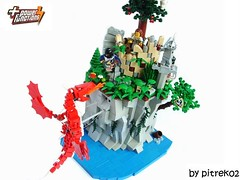 Fight Over the Coast (pitrek02) Tags: castle lego lugpol cccvi