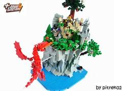 Fight Over the Coast (pitrek02) Tags: castle lego lugpol cccvi