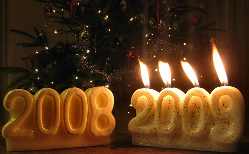 2008 becomes 2009: Happy new year!