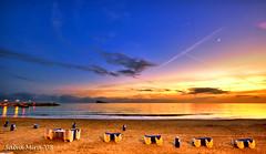 El penltim capvespre de l'any 2008 (Salva Mira) Tags: sunset sea beach mar playa benidorm platja illa sigma1020 nohdr capvespre postadesol puestadesol salvamira