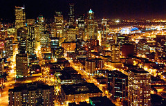 """Sleepless in Seattle"" (WorldofArun) Tags: world ocean seattle city light sunset urban mountain art history ferry architecture night skyscraper docks wonder lights evening harbor pier washington nikon downtown cityscape pacific queenanne alien scenic ufo neighborhood explore disk needle transportation rainier sound belltown planet spaceneedle pugetsound bremerton flyingsaucer monorail elliottbay bainbridge outerspace 2008 westcoast volcanic cascade 1962 i90 bellevue schedule mountbaker extraterrestrial observationdeck worldfair cascaderange unidentifiedflyingobject seattlemonorail 18200mm washingtonstateferries wsdot nikond40x yenumula cascadevolcanicarc worldofarun hoveringdisk arunyenumula"