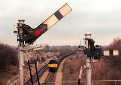 58007 at Aynho Junction (R~P~M) Tags: uk greatbritain england train diesel unitedkingdom railway locomotive coal britishrail 58 aynhojunction