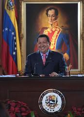 Hugo Chavez, mensaje de fin de año