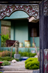 Attention to detail, the Balinese doorway