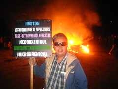 frank chu and christmas tree pyre: two great traditions that go great together (*thumper*) Tags: frankchu postyulepyre