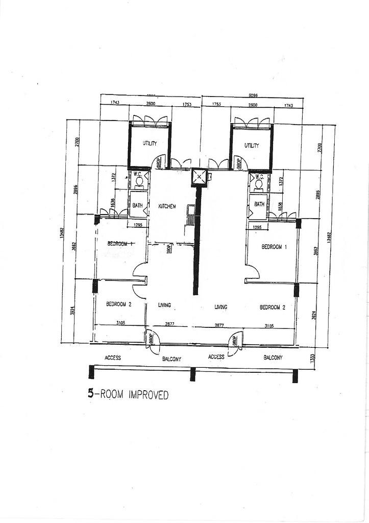 Hdb 3 Room Flat: HDB History, Photos And Floor Plan Evolution 1930s To