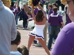 HUSKIE CHEERLEADER (bulgo125) Tags: college uw cheerleaders huskies cheerleader huskie