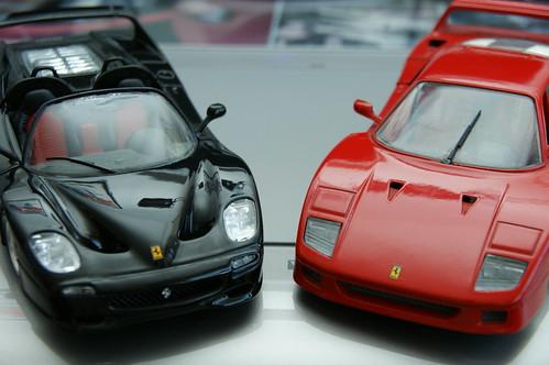 Ferrari F50 (1995), F40 (1987)