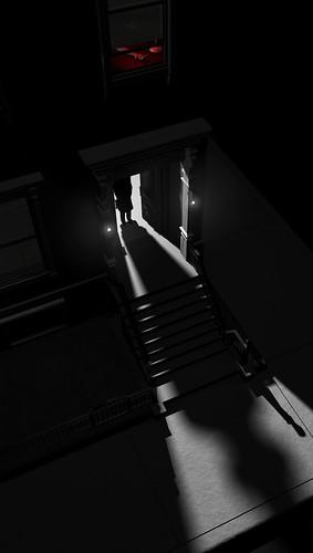 Darkness Falls by David Weinholtz