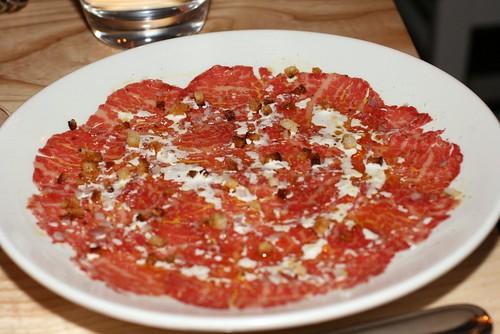 L'Artusi - Beef Carpaccio Crudo