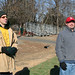 Mike Shumann and Patrick Nolan at the Annual Football Game--1-17-09