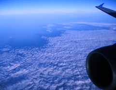 Over the Clouds (Falling Dreams) Tags: blue sky india clouds high iran indian wing desi iranian hyderabad fallingdreams
