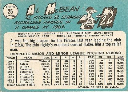 Al McBean (back) by you.