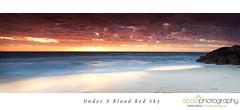 West Australian Sunset (Neal Pritchard Photography) Tags: longexposure sunset landscapes sunsets panoramic oceans westernaustralia canoneos5dseries mindariebeach claytonsbeach