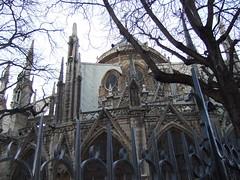 DSCF3810 (boglam) Tags: travel paris france tower seine architecture french spiral stair bell spires gothic notredame nave gargoyles iledelacite apse 4tharrondissement