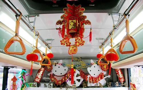 2009春節過年的101接駁公車